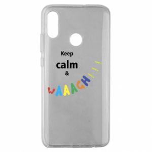 Huawei Honor 10 Lite Case Keep calm & waaagh!!!