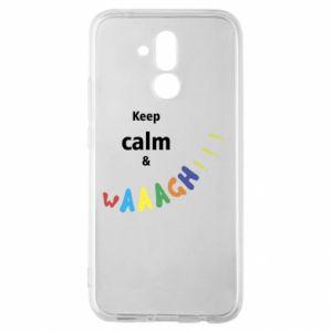 Huawei Mate 20Lite Case Keep calm & waaagh!!!