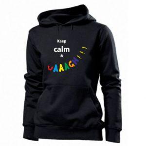 Damska bluza Keep calm & waaagh!!!