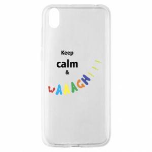 Huawei Y5 2019 Case Keep calm & waaagh!!!