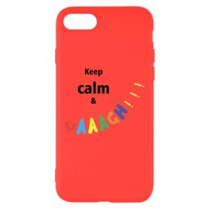 iPhone SE 2020 Case Keep calm & waaagh!!!