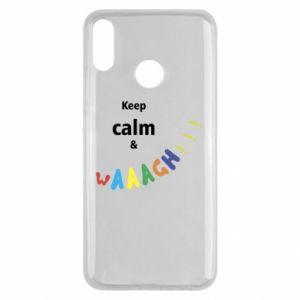 Huawei Y9 2019 Case Keep calm & waaagh!!!