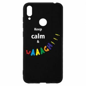 Huawei Y7 2019 Case Keep calm & waaagh!!!