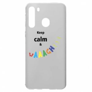 Samsung A21 Case Keep calm & waaagh!!!