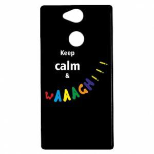 Sony Xperia XA2 Case Keep calm & waaagh!!!