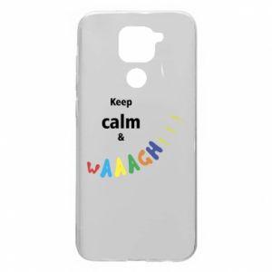Xiaomi Redmi Note 9/Redmi 10X case Keep calm & waaagh!!!