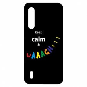 Xiaomi Mi9 Lite Case Keep calm & waaagh!!!