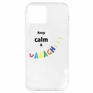 iPhone 12/12 Pro Case Keep calm & waaagh!!!
