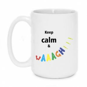 Kubek 450ml Keep calm & waaagh!!!