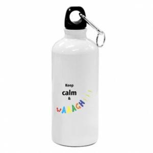 Water bottle Keep calm & waaagh!!!