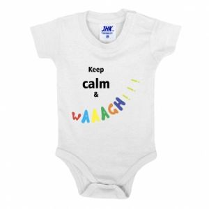 Body dla dzieci Keep calm & waaagh!!!