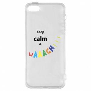 Etui na iPhone 5/5S/SE Keep calm & waaagh!!!