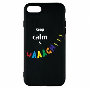 Etui na iPhone 7 Keep calm & waaagh!!!