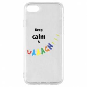 Etui na iPhone 8 Keep calm & waaagh!!!