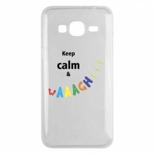 Etui na Samsung J3 2016 Keep calm & waaagh!!!