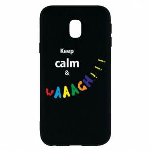 Etui na Samsung J3 2017 Keep calm & waaagh!!!