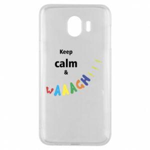 Etui na Samsung J4 Keep calm & waaagh!!!
