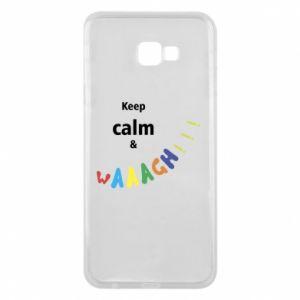 Etui na Samsung J4 Plus 2018 Keep calm & waaagh!!!