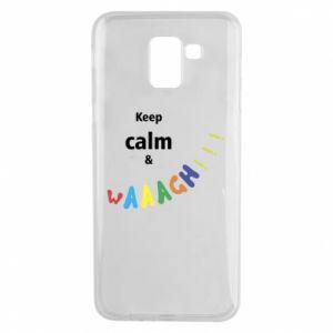 Etui na Samsung J6 Keep calm & waaagh!!!