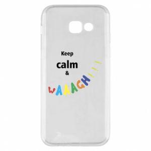 Etui na Samsung A5 2017 Keep calm & waaagh!!!