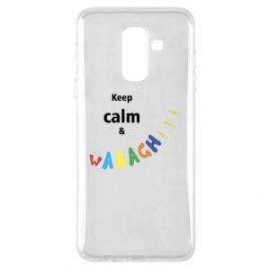 Etui na Samsung A6+ 2018 Keep calm & waaagh!!!