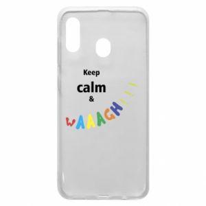 Etui na Samsung A20 Keep calm & waaagh!!!