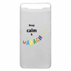 Etui na Samsung A80 Keep calm & waaagh!!!