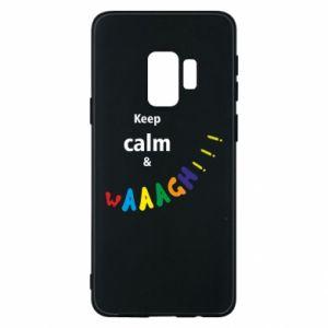 Etui na Samsung S9 Keep calm & waaagh!!!