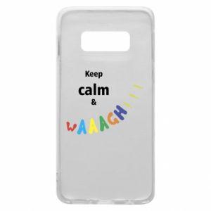 Etui na Samsung S10e Keep calm & waaagh!!!