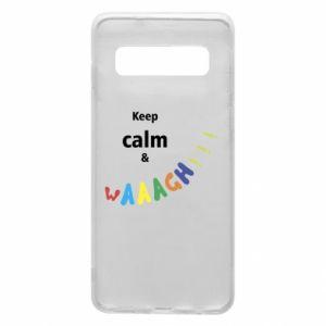 Etui na Samsung S10 Keep calm & waaagh!!!