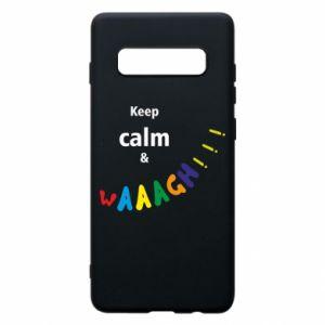 Etui na Samsung S10+ Keep calm & waaagh!!!
