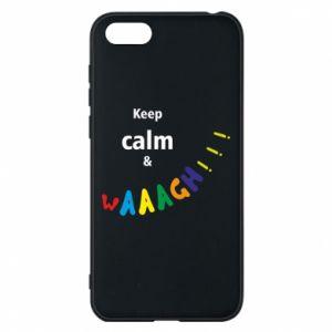 Etui na Huawei Y5 2018 Keep calm & waaagh!!!