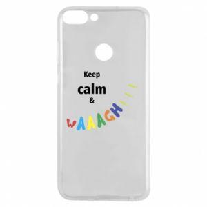 Etui na Huawei P Smart Keep calm & waaagh!!!