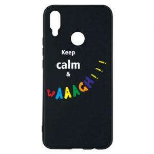 Etui na Huawei P Smart Plus Keep calm & waaagh!!!
