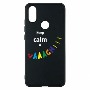 Etui na Xiaomi Mi A2 Keep calm & waaagh!!!