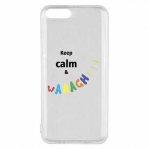 Etui na Xiaomi Mi6 Keep calm & waaagh!!!