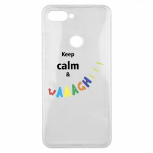 Etui na Xiaomi Mi8 Lite Keep calm & waaagh!!!
