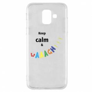 Etui na Samsung A6 2018 Keep calm & waaagh!!!