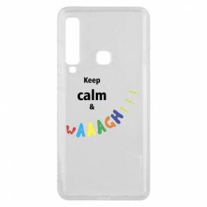 Etui na Samsung A9 2018 Keep calm & waaagh!!!