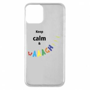 Etui na iPhone 11 Keep calm & waaagh!!!