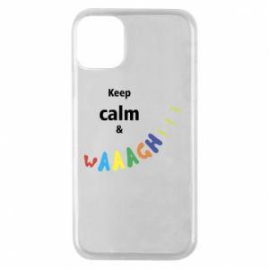 Etui na iPhone 11 Pro Keep calm & waaagh!!!