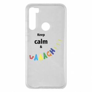 Xiaomi Redmi Note 8 Case Keep calm & waaagh!!!