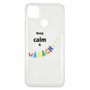 Xiaomi Redmi 9c Case Keep calm & waaagh!!!
