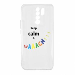 Xiaomi Redmi 9 Case Keep calm & waaagh!!!