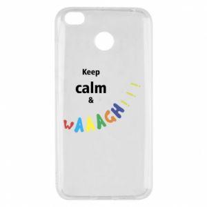Xiaomi Redmi 4X Case Keep calm & waaagh!!!