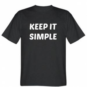 Koszulka Keep it simple