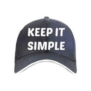 Czapka Keep it simple