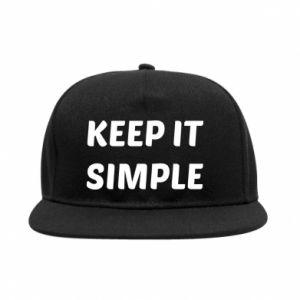 Snapback Keep it simple
