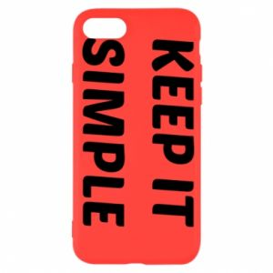 iPhone SE 2020 Case Keep it simple