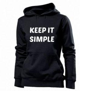 Damska bluza Keep it simple